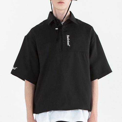Link Pique Polo Shirt_Black