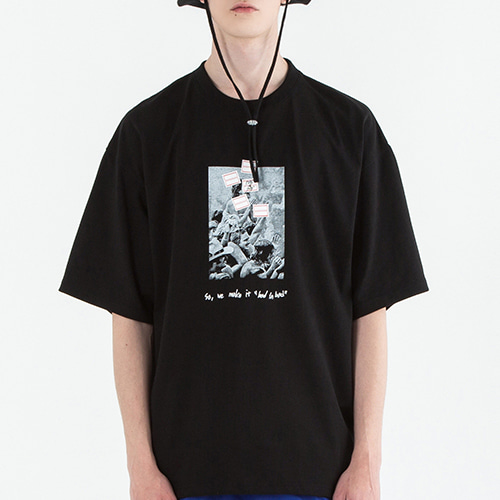 1969 Music and Art T Shirt_Black