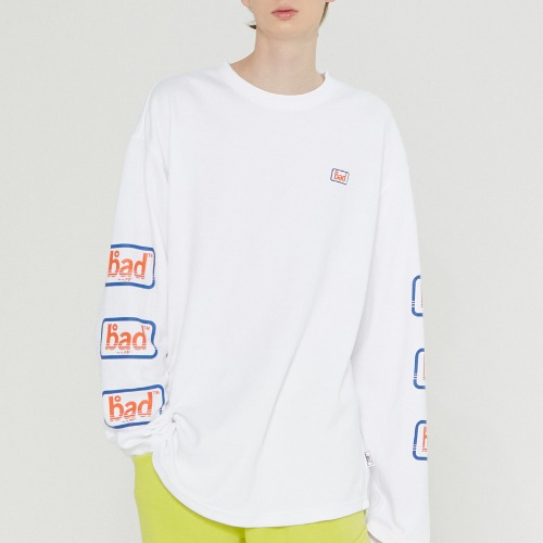 EXPRESS LOGO LONG SLEEVE_WHITE