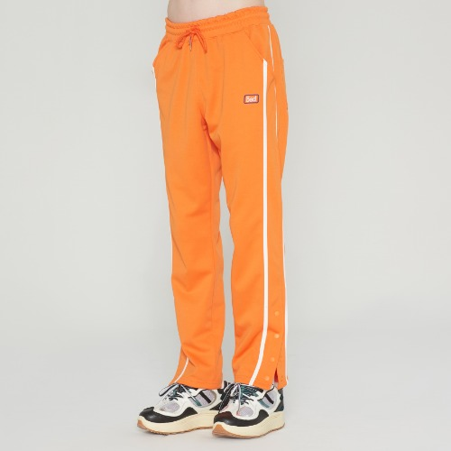 SIDE BUTTON PANTS_ORANGE