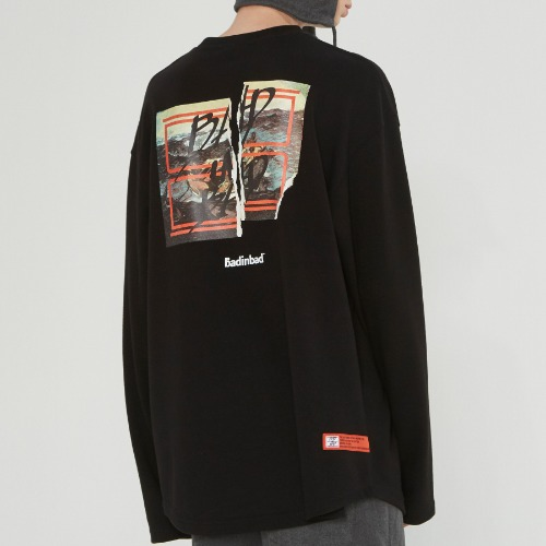[10/30 예약발송]GALLERY LOGO LONG SLEEVE_BLACK