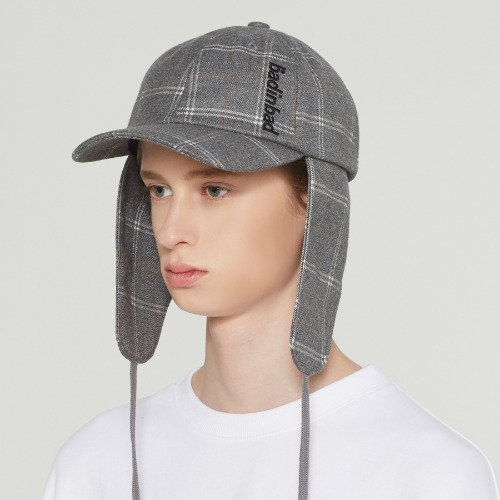 BIB STRING TROOPER HAT_GREY