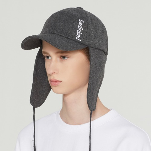 BIB STRING TROOPER HAT_CHARCOAL
