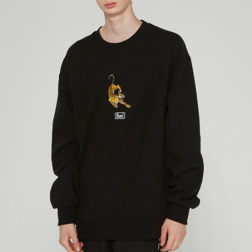 ALTAICA TIGER SWEATSHIRT_BLACK