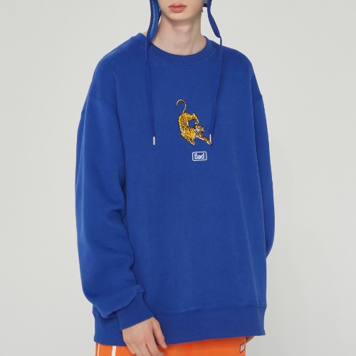 ALTAICA TIGER SWEATSHIRT_BLUE