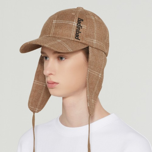 BIB STRING TROOPER HAT_BROWN