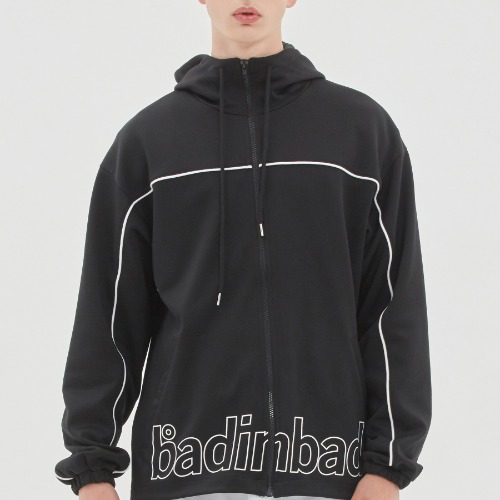 BIB BACK POCKET TRACK JACKET_BLACK