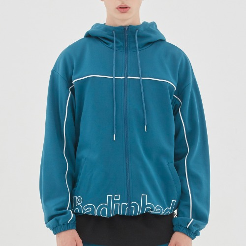 BIB BACK POCKET TRACK JACKET_BLUE GREEN