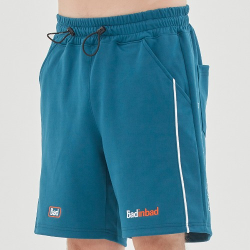 TRACK HALF SHORTS_BLUE GREEN