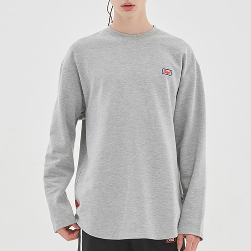 BIB LOGO LONG SLEEVE_GREY
