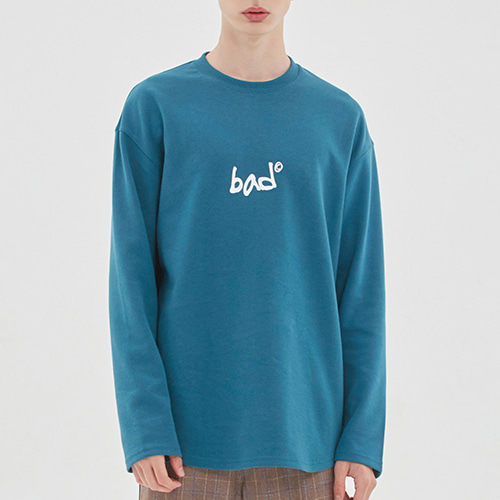 SCRIBE LOGO LONG SLEEVE_BLUE GREEN