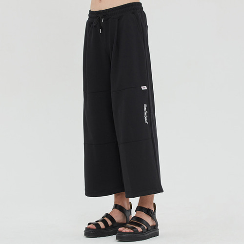 WIDE TRACK PANTS_BLACK