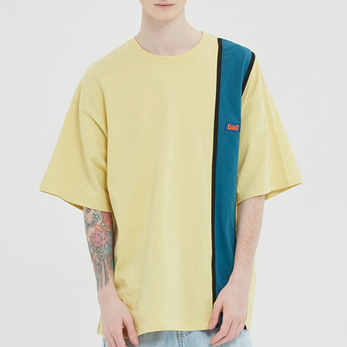 HOOLIGAN FLAG TEE_LIME YELLOW