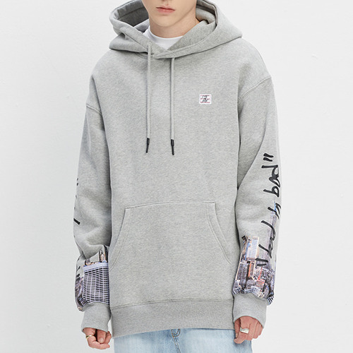 BAD CITY HOODIE_GREY