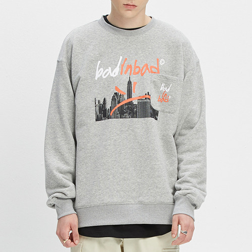 BAD CITY SWEATSHIRT_GREY