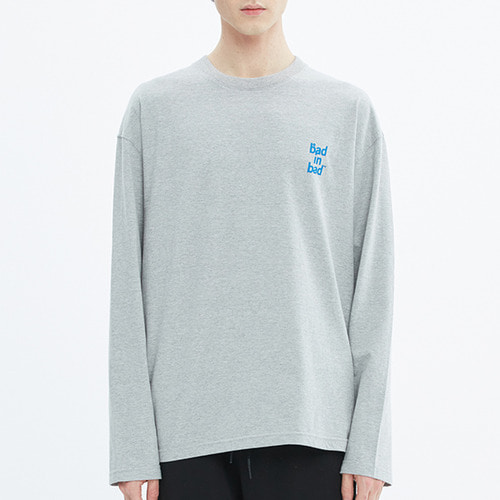 OG LOGO LONG SLEEVE_GREY