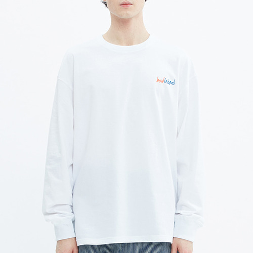 BIG LOGO LONG SLEEVE_WHITE