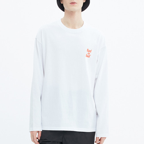OG LOGO LONG SLEEVE_WHITE