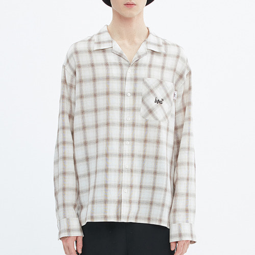 POCKET WORK SHIRT_OATMEAL
