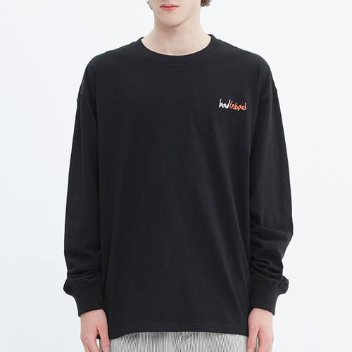 BIG LOGO LONG SLEEVE_BLACK